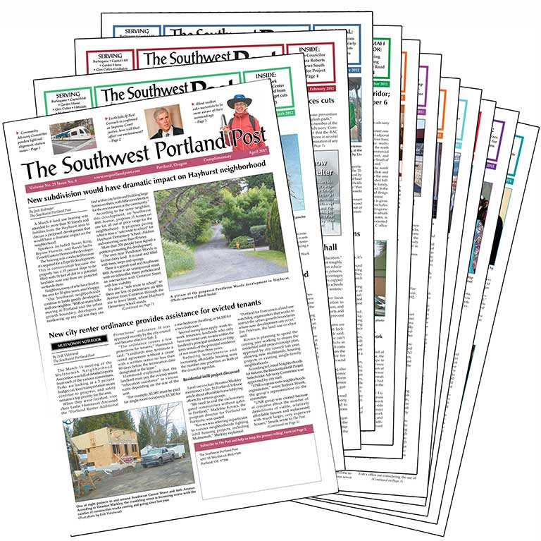Southwest Portland Post Newspapers